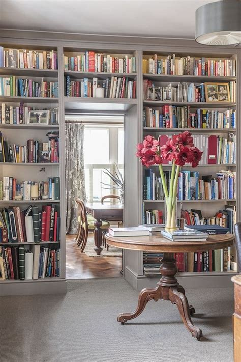 floor to ceiling bookcase floor to ceiling wraparound bookcase home libraries
