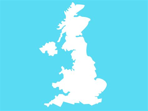 clipart uk uk map blue clip at clker vector clip