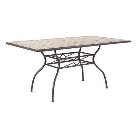 tavoli in ferro battuto e mosaico tavolo ferro battuto mosaico mobili giardino