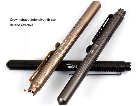 Defensive Security Tactical Pen Glass Breaker Defensive Security Tactical Pen Glass Breaker Black