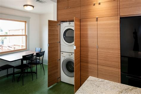 Kitchen And Laundry Room Designs Berkeley Kitchen Contemporary Laundry Room San Francisco By Cugini Cabinets Design