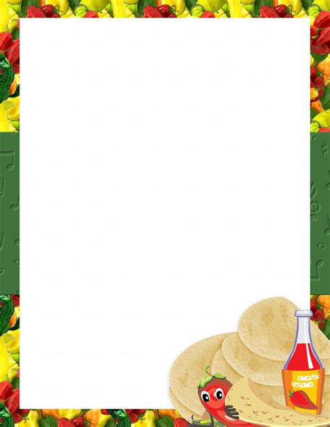 mexican menu template free download 3 best agenda