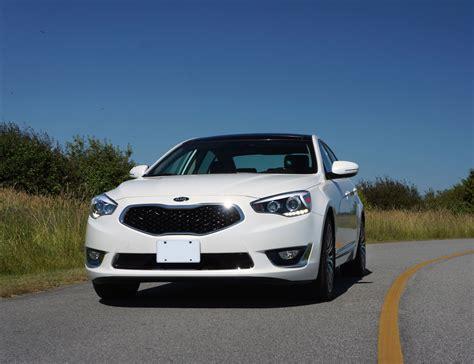 Kia Cadenza Road Test 2014 Kia Cadenza Premium Road Test Review Carcostcanada