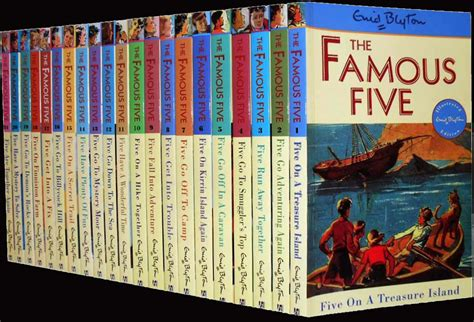 famous books working title acquires enid blyton s the famous five