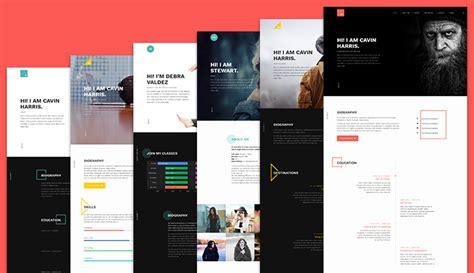 multiple layout joomla template review ja resume responsive joomla template for resume