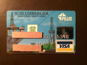 Does Walmart Sell Gas Gift Cards - schlumberger oil and gas company 1998 vintage collectors credit card