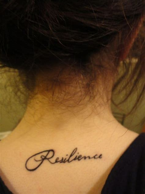 tattoo quotes for back of neck 45 words neck tattoos