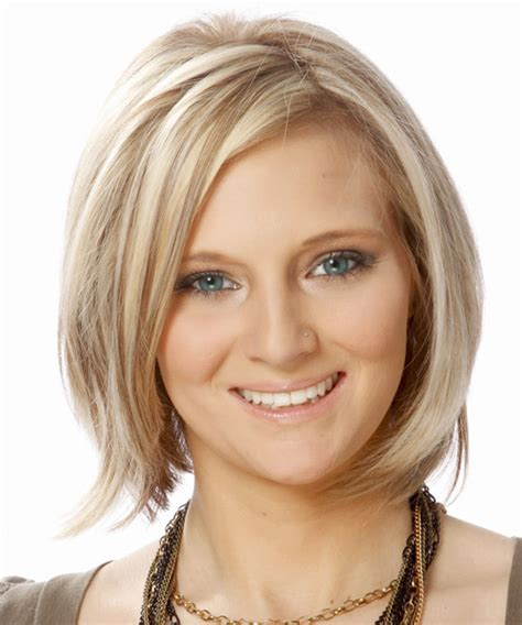 fine straight hairstyles 50 short hairstyles for round face with double chin long