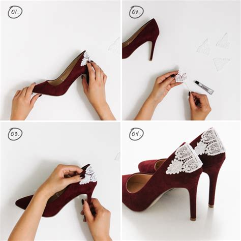 diy high heel shoes give your shoes a diy makeover with these easy