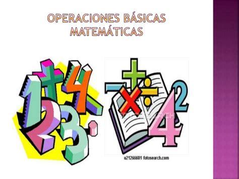 imagenes animadas de operaciones matematicas operaciones b 225 sicas matem 225 ticas