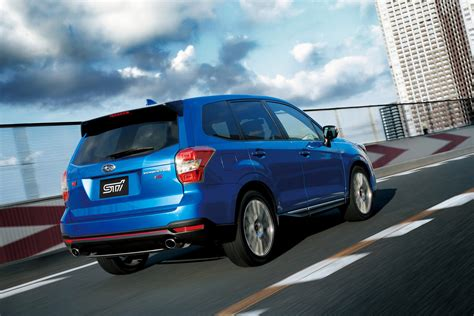 subaru japanese sti releases subaru quot forester ts quot exclusively in japan