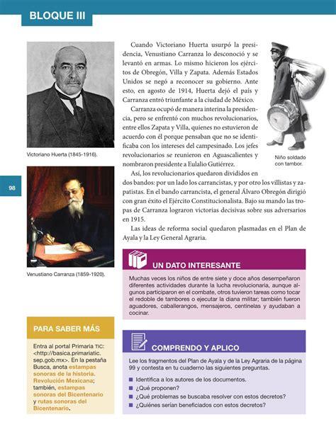 issuu historia 5 grado 2015 2016 libro sep historia 5to grado issuu 2015 2016 libro de