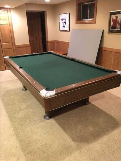 used pool table slate 17 best 7 used slate pool tables for sale prices vary by