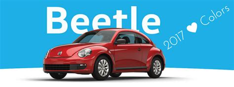 volkswagen beetle colors 2017 2017 volkswagen beetle interior and exterior colors