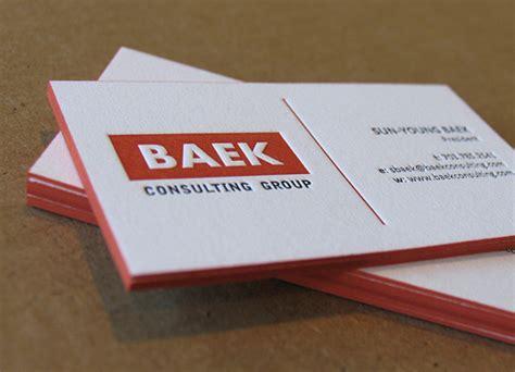 how to make letterpress cards letterpress business cards design exles design