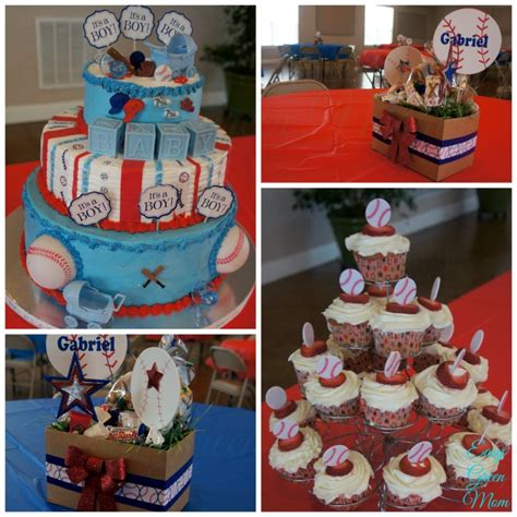 Baseball Baby Shower Decorations by Wordless Wednesday W Linky Baseball Babyshower Easy