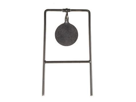 swinging targets high point swinging target single spin 45 cal steel black