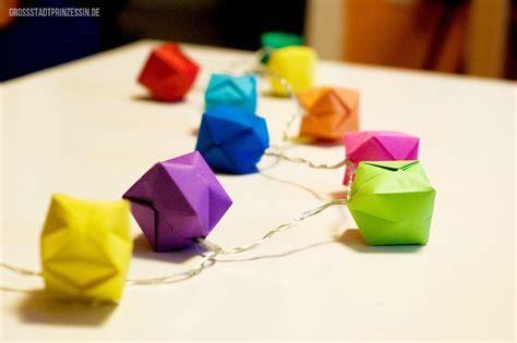 origami lichterkette sachenmachen origami lichterkette gro 223 stadtprinzessin
