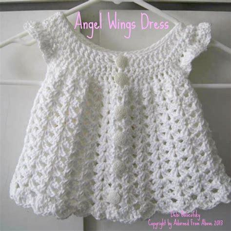 pattern newborn dress free crochet baby patterns to print crocheted dress