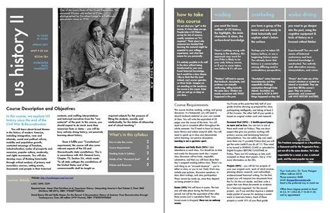 magazine layout design course a plug for a design forward syllabus teaching united