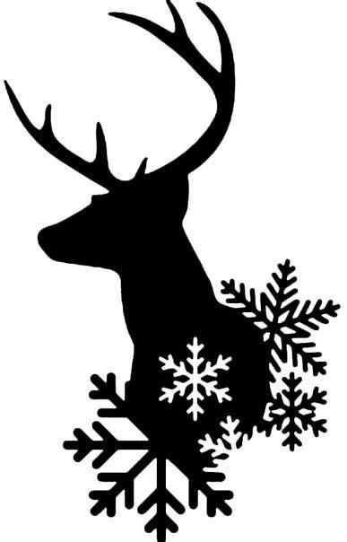 printable reindeer silhouette best 25 reindeer silhouette ideas on pinterest santa