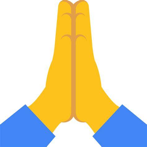 emoji pray file emoji u1f64f svg wikimedia commons