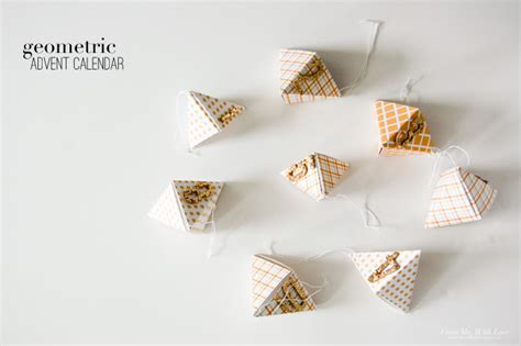 Origami Calendar - interesting origami calendar 2016