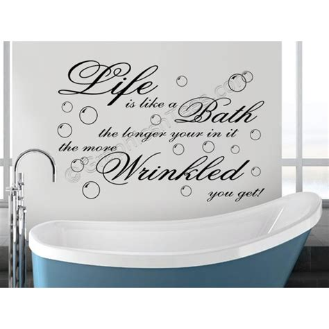 bathroom wall decals quotes bathroom wall decals quotes 28 images relax wall