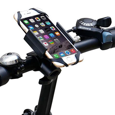 ipow universal fahrrad handyhalterung mit metall sockel