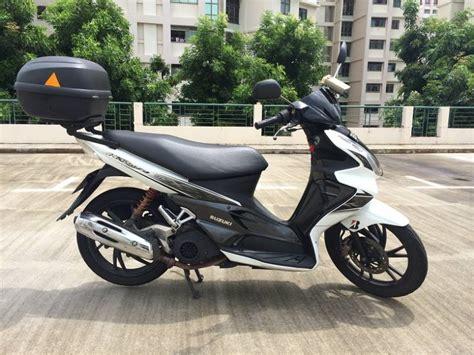 suzuki hayate scooter for sale coe until aug 2020