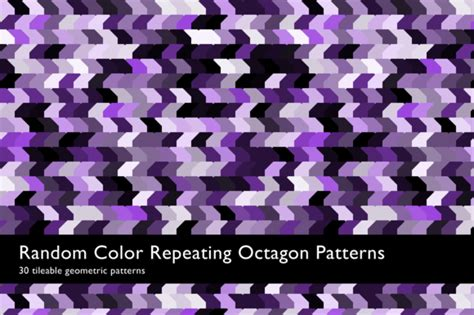 octagon pattern ai random color octagon patterns patterns on creative market