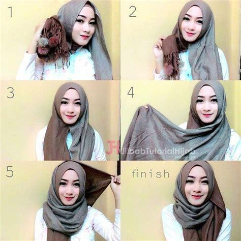tutorial hijab pashmina panjang 83 tutorial hijab pashmina panjang 2018