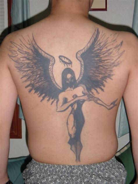 simple angel tattoo design blessing of god tattoo angel tattoo design ideas