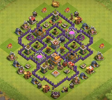 coc layout hybrid 12 best town hall th7 hybrid bases 2017 3 air defenses
