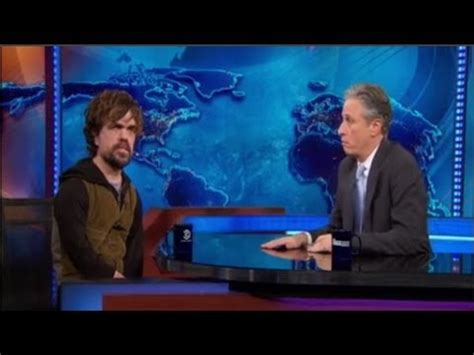 peter farrelly interview jon stewart was nearly the lead in peter dinklage interview with jon stewart the daily show