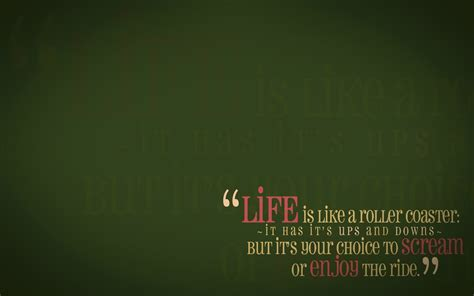 green wallpaper with quotes green quotes life enjoy wallpaper 1920x1200 11143