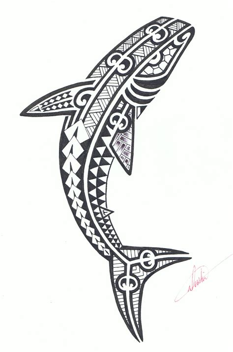shark tribal tattoos shark tattoos