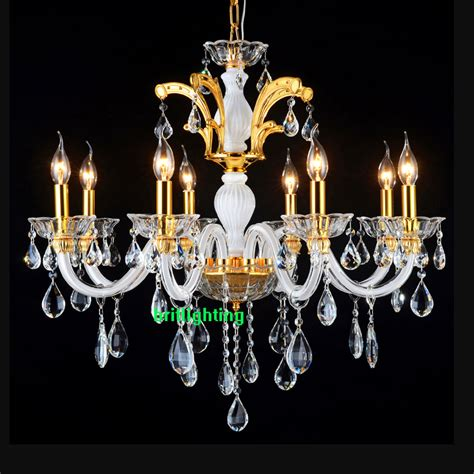 Glass Chandeliers For Dining Room Chandelier With 8 Lights Modern Chandelier Dining Room Igf Usa