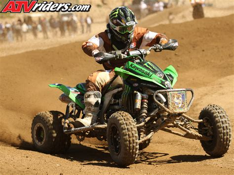 Atv Kawasaki Kfx450r Race energy kawasaki s creamer puts the kfx450r on the