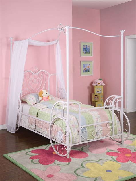 carriage twin bed princess emily carriage canopy twin bed antique white