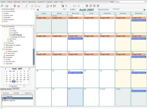 Calendar Extension Thunderbird Thunderbird Lightning Et Agenda Guillaume