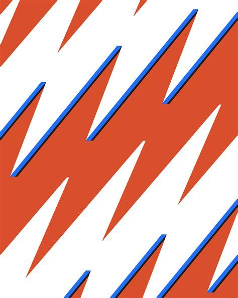 bolt pattern en francais lightning bolt pattern on behance