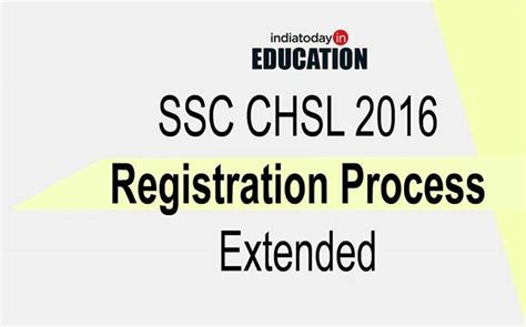 Mba Cet 2016 Registration by Ssc Chsl 2016 Registration Process Extended Check Out New