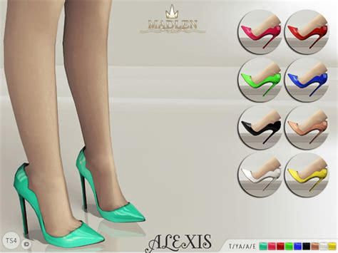 sims 4 shoes the sims resource the sims resource madlen alexis shoes by mj95 sims 4