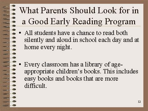 a speaker s guidebook text and reference books what parents should look for in a early reading