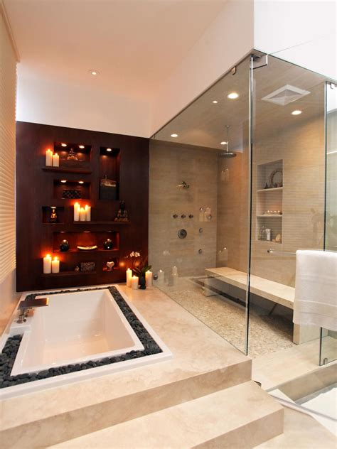Infinity Bathtub Design Ideas Pictures Tips From Hgtv Spa Bathroom Showers