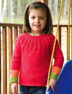 Sweater Mona 2 ravelry yoke sweater pattern by mona schmidt