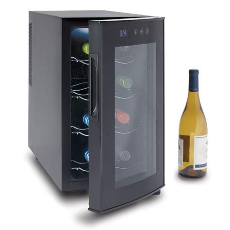 wine refrigerator the superior countertop wine refrigerator hammacher