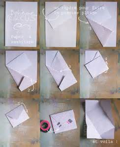 How To Fold A4 Paper Into An Envelope Boh 232 Me Circus Paper Amp Washitape Diy