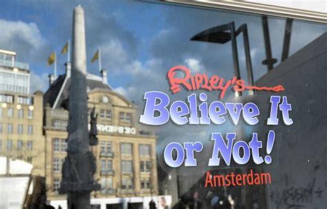 museum ripley amsterdam ripley s op de dam krijgt een heel eigen format pretwerk
